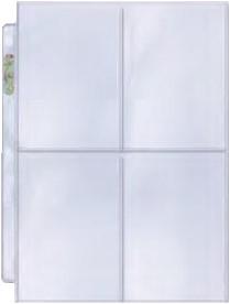 Transparante Pagina Voor 4 Kaarten (100 stuks)