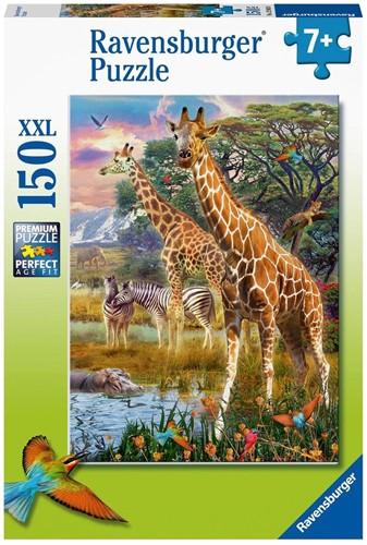 Kleurrijke Savanne Puzzel (150 XXL stukjes)
