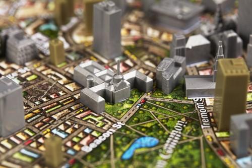 4D Cityscape - Boston 4D Puzzel (1100 stukjes)-3