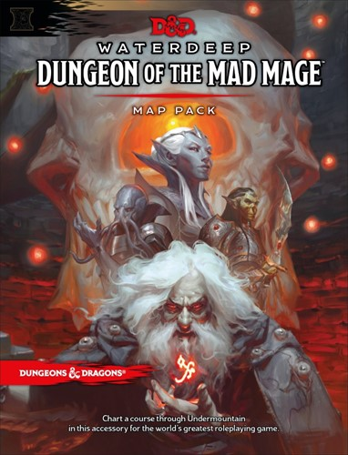 D&D Dungeon of the Mad Mage Map Pack