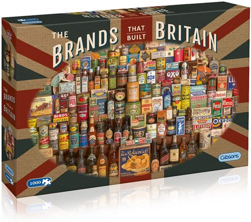 The Brands That Built Britain Puzzel (1000 stukjes)