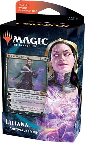 Magic the Gathering - Core 2021 Planeswalker Deck Liliana