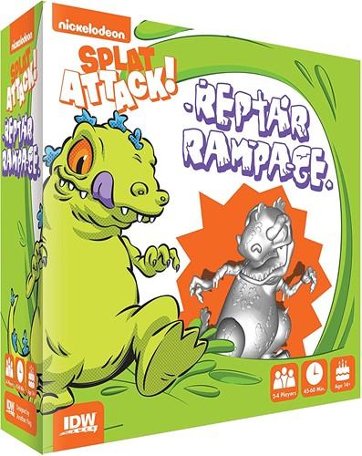 Splat Attack! - Reptar Rampage