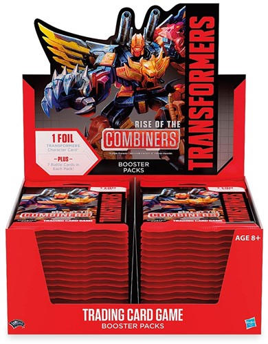 Transformers 2 - Rise of the Combiners Boosterbox