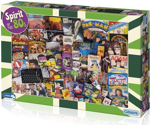 Spirit of the 80s Puzzel (1000 stukjes)