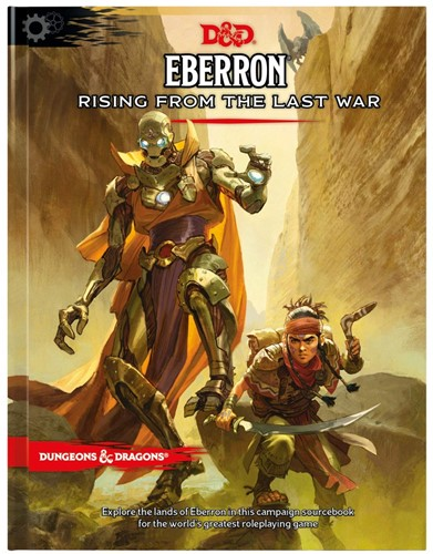 Dungeon & Dragons - Eberron Rising from the Last War