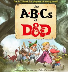 ABC's of D&D Learn to Read Childern's Book