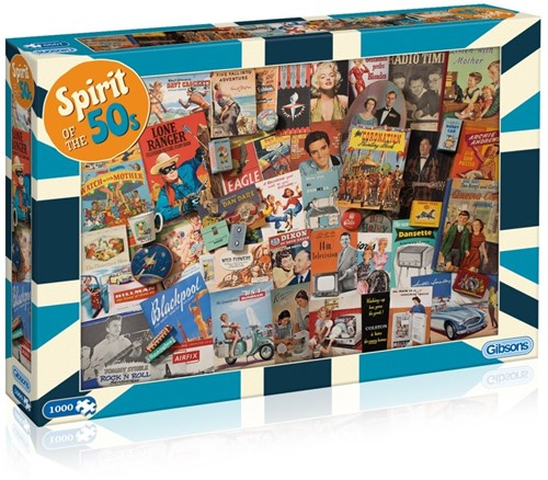 Spirit of the 50s Puzzel (1000 stukjes)