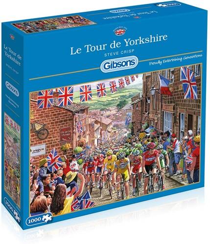 Le Tour de Yorkshire Puzzel (1000 stukjes)
