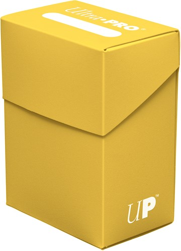 Deckbox Solid - Geel