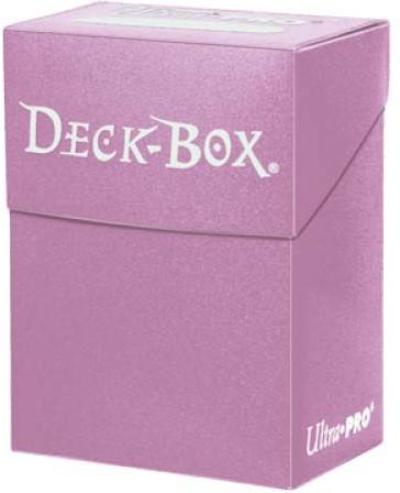 Deckbox Solid - Roze