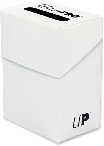 Deckbox Solid - White