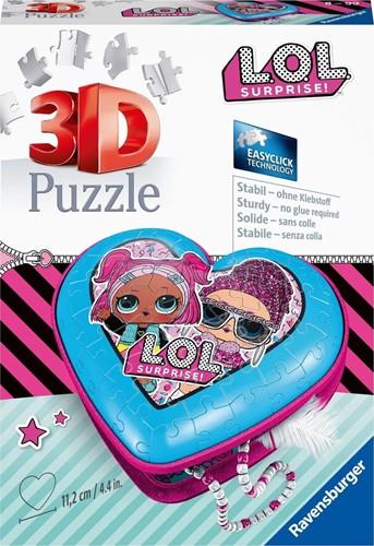 3D Puzzel - L.O.L. Suprise Hartendoosje (54 stukjes)