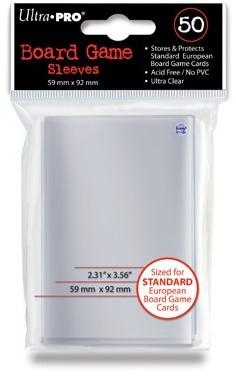 Board Game Sleeves - Standard (59x92 mm)