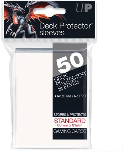 Sleeves - Standaard Wit (66x91 mm)