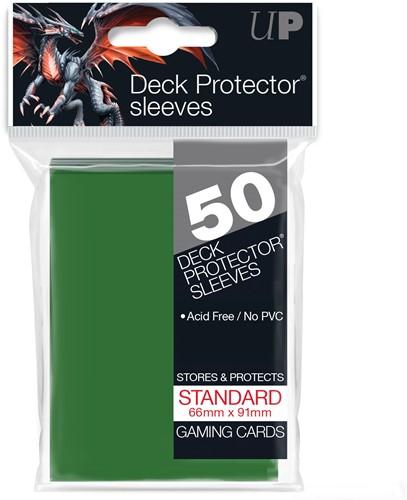 Sleeves - Standaard Groen (66x91 mm)