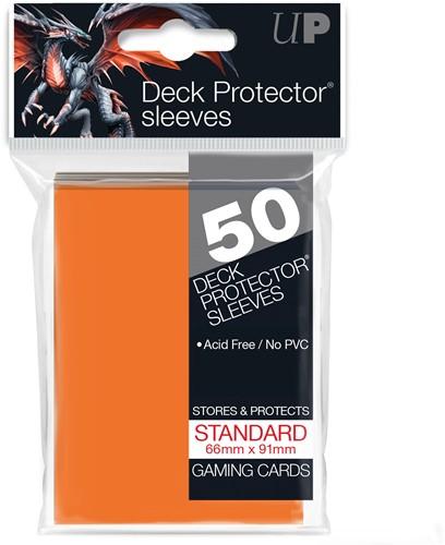 Sleeves - Standaard Oranje (66x91 mm)