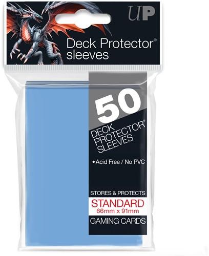 Sleeves - Standaard Licht Blauw (66x91 mm)