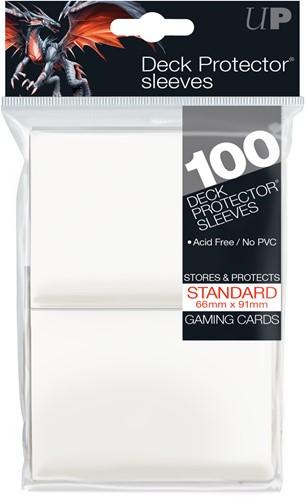 Sleeves - Standaard Wit (100 Stuks)