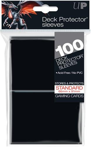 Sleeves - Standaard Zwart (100 Stuks)