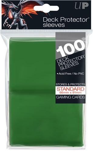 Sleeves - Standaard Groen (100 Stuks)