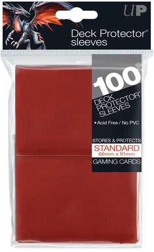 Sleeves - Standaard Rood (100 Stuks)