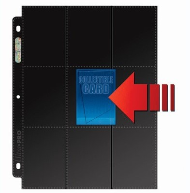 Ultra Pro Pages Side-Load 18-Pocket (10 stuks)