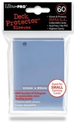 Sleeves - Small Transparant (62x89 mm)