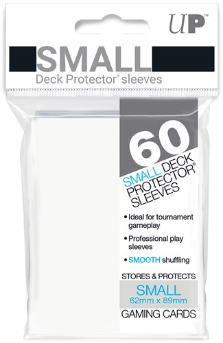 Sleeves - Small Wit (62x89 mm)