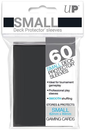 Sleeves - Small Zwart (62x89 mm)