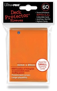 Sleeves - Small Oranje (62x89 mm)