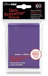 Sleeves - Small Paars (62x89 mm)