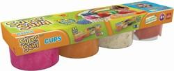 Super Sand Cups - Oranje & Roze
