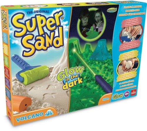 Super Sand - Glow In The Dark Vulcano-1