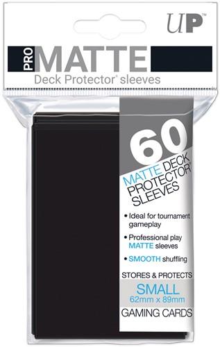 Sleeves Pro-Matte - Small Zwart (62x89 mm)