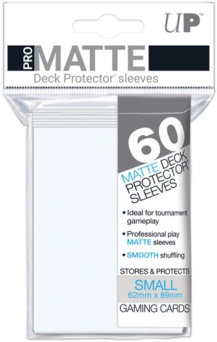 Sleeves Pro-Matte - Small Wit (62x89 mm)