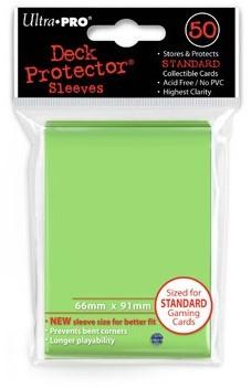Sleeves - Standaard Lime Groen (66x91 mm)