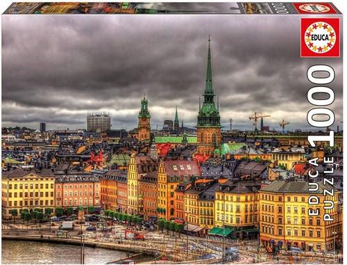 Stockholm Skyline Puzzel (1000 stukjes)