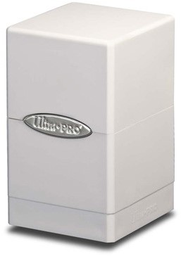 Deckbox Satin Tower White (Open geweest)