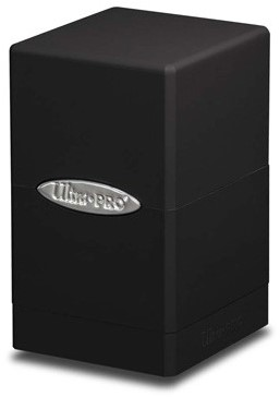 Deckbox Satin Tower Zwart