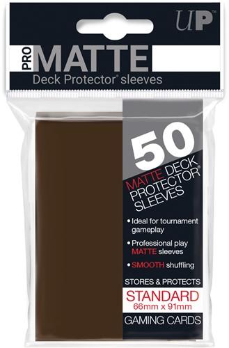 Sleeves Pro-Matte - Standaard Bruin (66x91 mm)