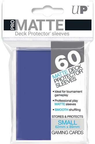 Sleeves Pro-Matte - Small Blauw (62x89 mm)