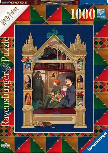 Harry Potter Onderweg naar Hogwarts Puzzel (1000 stukjes)