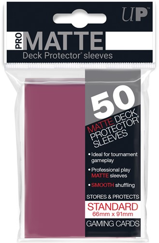 Sleeves Pro-Matte - Standaard Blackberry (66x91 mm)