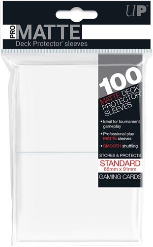 Sleeves Pro-Matte - Standaard Wit (100 stuks)