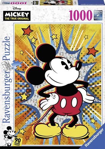 Retro Mickey Puzzel (1000 stukjes)