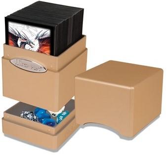 Deck Box Satin Tower Metallic Caramel-2