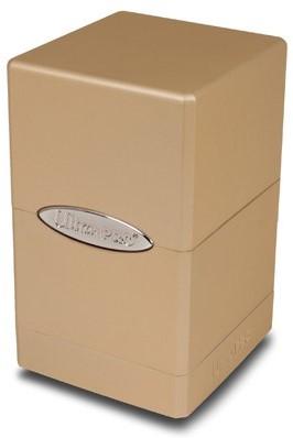 Deck Box Satin Tower Metallic Caramel-1