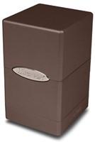 Deck Box Satin Tower Metallic Dark Chocolate-1