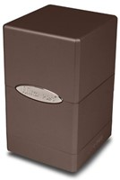 Deck Box Satin Tower Metallic Dark Chocolate